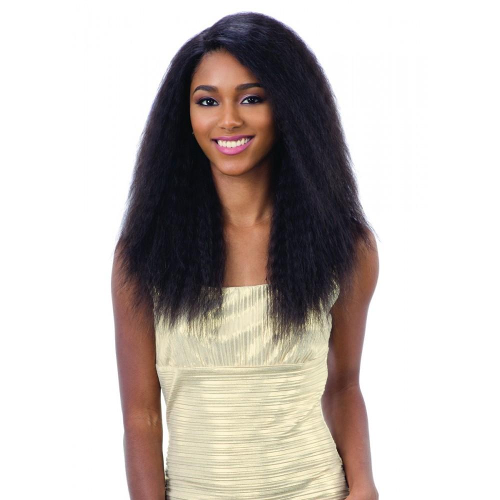 Shake-N-Go 100% Human Hair Lace Part Wig - Natural 702